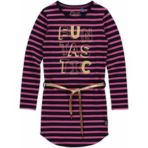 Jurk Lamira 3 dark blue stripe