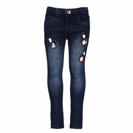 Le Chic Le Chic spijkerbroek nailpolish dark blue denim