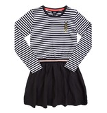 Little Miss Juliette Little Miss Juliette jurk sweat stripe (elvy's wereld)