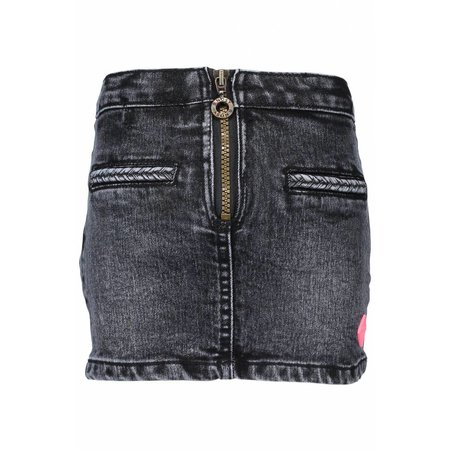 B.Nosy B.Nosy rokje denim with zipper black