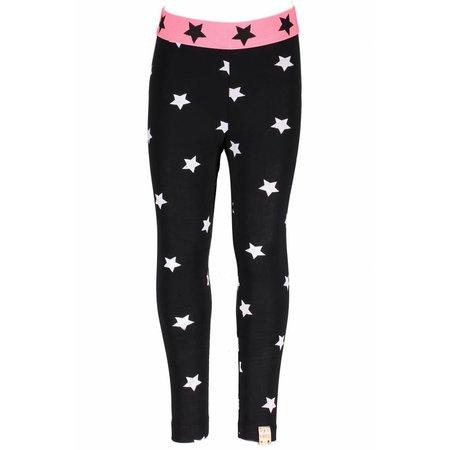 B.Nosy B.Nosy legging ao printed star black marshmallow