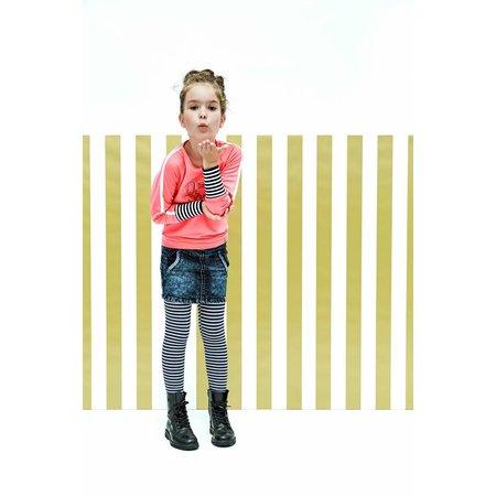 B.Nosy B.Nosy trui with raglan sleeves neon magenta