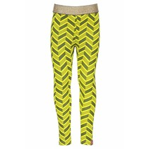 Legging herringbone ao canary crocodile
