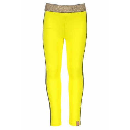 B.Nosy B.Nosy legging with tape on side seam canary