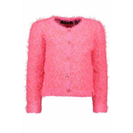 B.Nosy B.Nosy vest panther knit candy