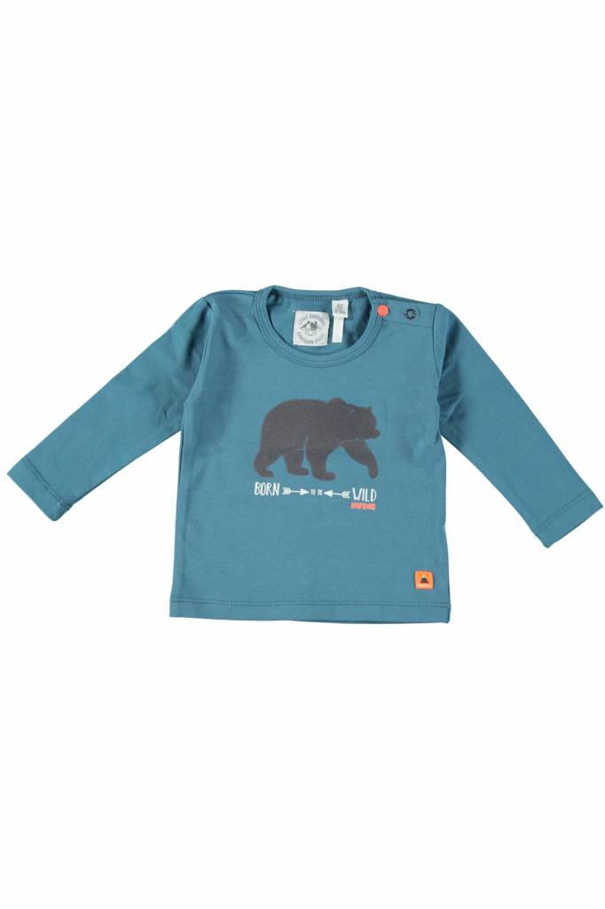 Bampidano Bampidano longsleeve bear blue