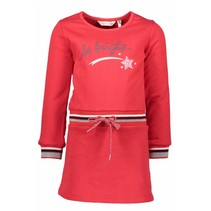 Jurkje sweat dress red