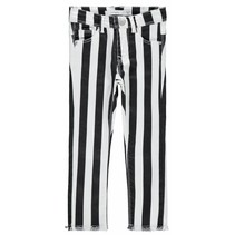 Broek Polly bastriba black white