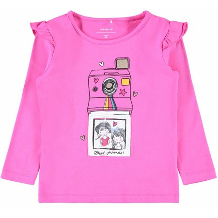 Name It Name It longsleeve Ralli knockout pink