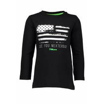 Longsleeve flag black
