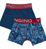 Vingino Vingino boxershorts Original 2-pack pool blue