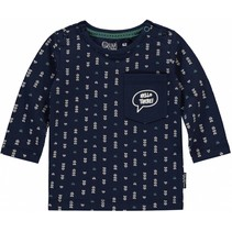 Longsleeve Zacharias dark blue arrow
