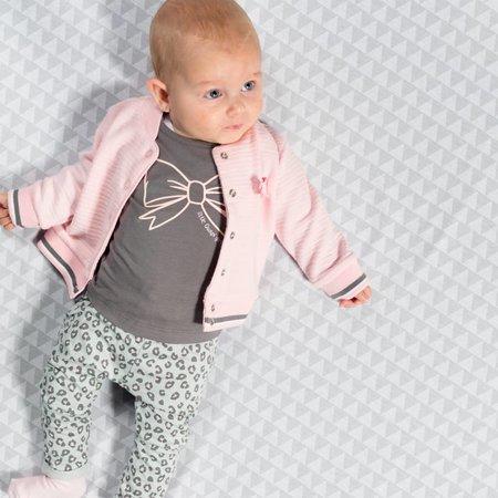 Quapi Quapi broekje Zarina light grey leopard