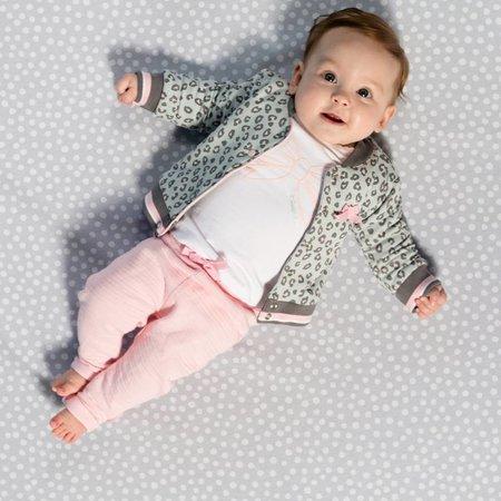 Quapi Quapi vest Zara light grey leopard