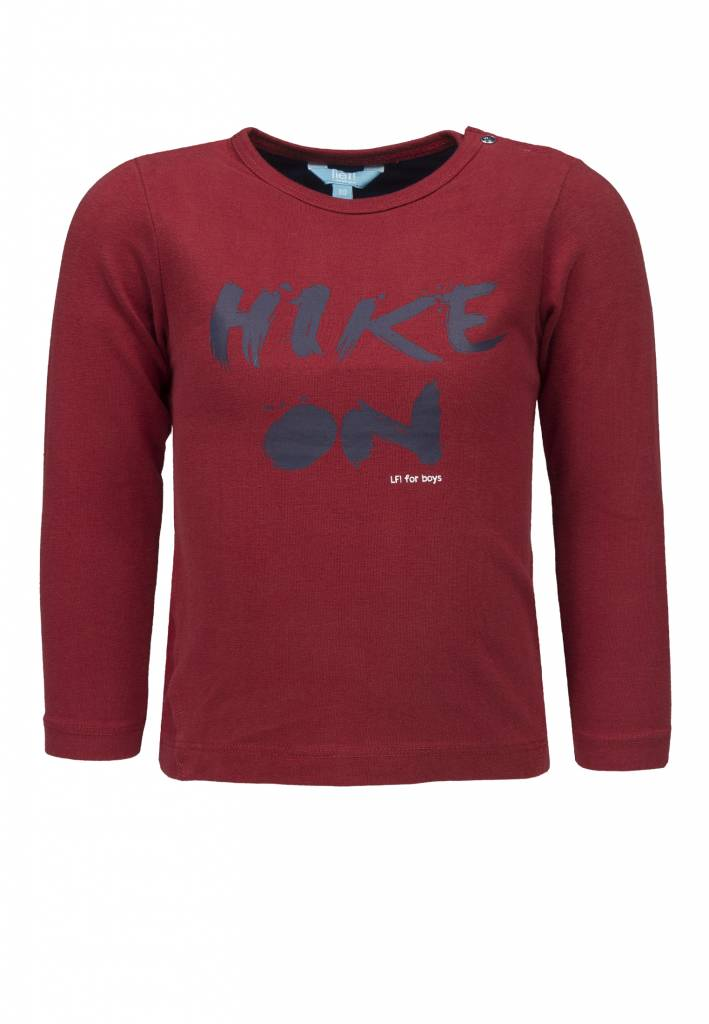 Lief! Lifestyle Lief! Lifestyle longsleeve Hike chili pepper