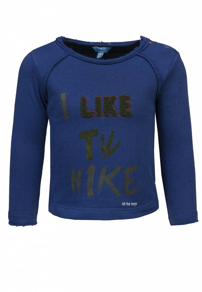Lief! Lifestyle Lief! Lifestyle trui hike estate blue