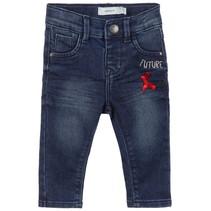 Spijkerbroekje Salli dark blue denim