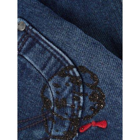 Name It Name It spijkerbroekje Salli dark blue denim