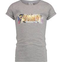 T-shirt Henrise light grey melee