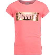 T-shirt Henrise peach pink