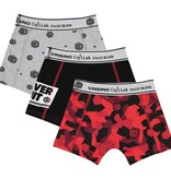 Vingino Vingino Daley Blind boxershorts 3-pack deep black