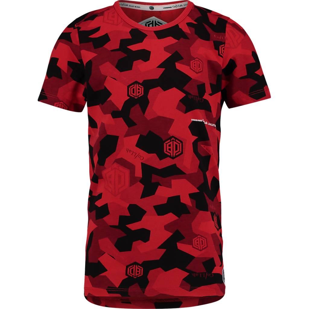 Vingino Vingino Daley Blind T-shirt Hector flame red