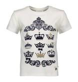 Le Chic Le Chic T-shirt royal crowns off white