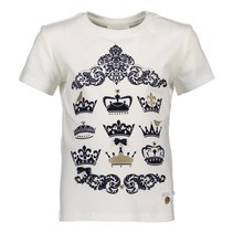 T-shirt royal crowns off white