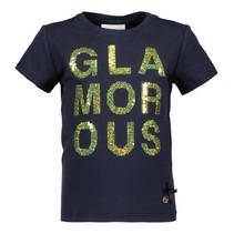 T-shirt glamorous blue navy