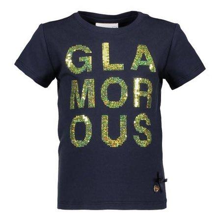 Le Chic Le Chic T-shirt glamorous blue navy