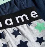 Name It Name It 2-pack boxer grey aop stars