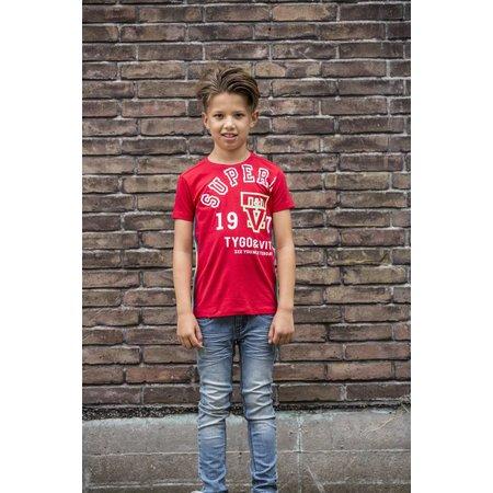 TYGO&vito TYGO&vito T-shirt superior red