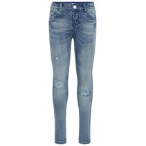 Spijkerbroek Polly Tara light blue denim