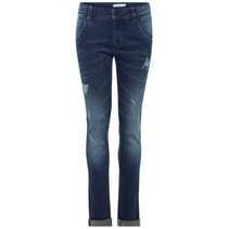 Spijkerbroek Silas Togo dark blue denim