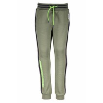Broek with piping on the side fern green