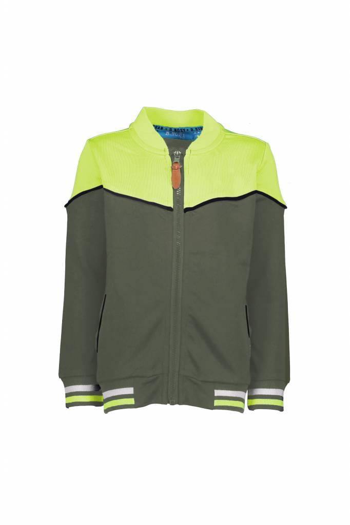 B.Nosy B.Nosy baseball vest fern green