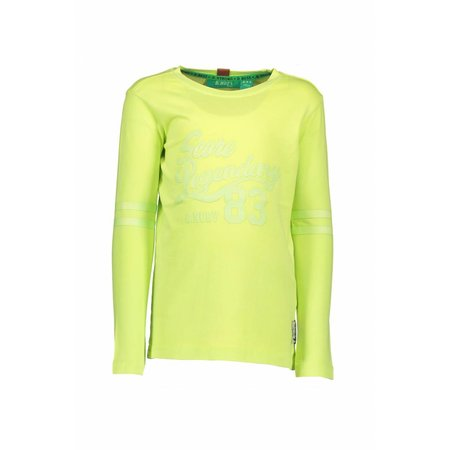 B.Nosy B.Nosy longsleeve garment dye shirt neon yellow