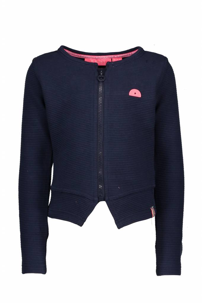 B.Nosy B.Nosy vest quilted blazer midnight blue
