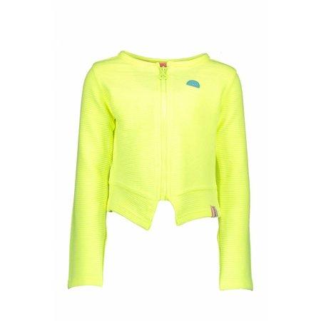 B.Nosy B.Nosy vest quilted blazer electric yellow