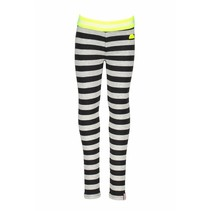 Legging y/d stripe grey melee/black