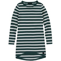 Jurk Babine emerald green stripe