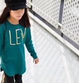 Levv Levv jurk Babette 1 emerald green
