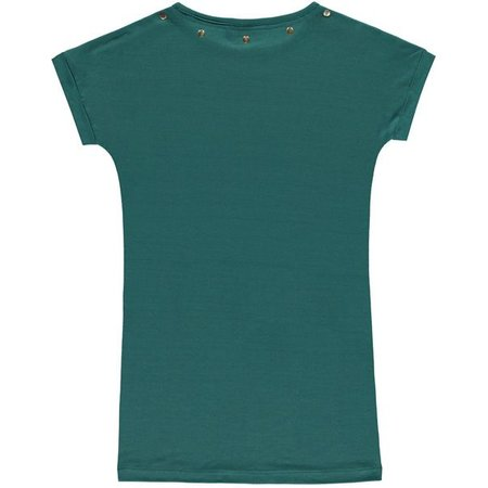 Levv Levv jurk Bea emerald green