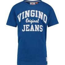 T-shirt Halver pool blue