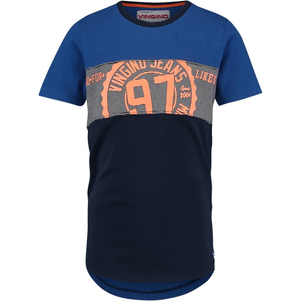 Vingino Vingino T-shirt Helton pool blue