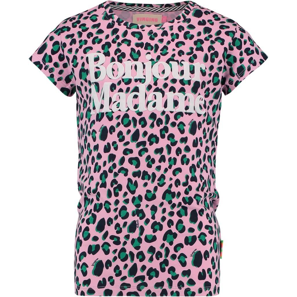 Vingino Vingino T-shirt Healy hot lips animal