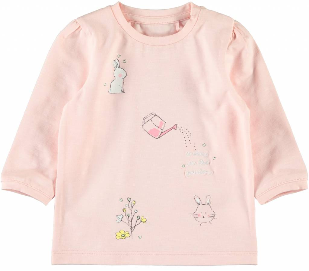 Name It Name It longsleeve Bibi strawberry cream