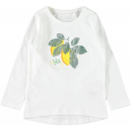 Name It Name It longsleeve Veen bright white