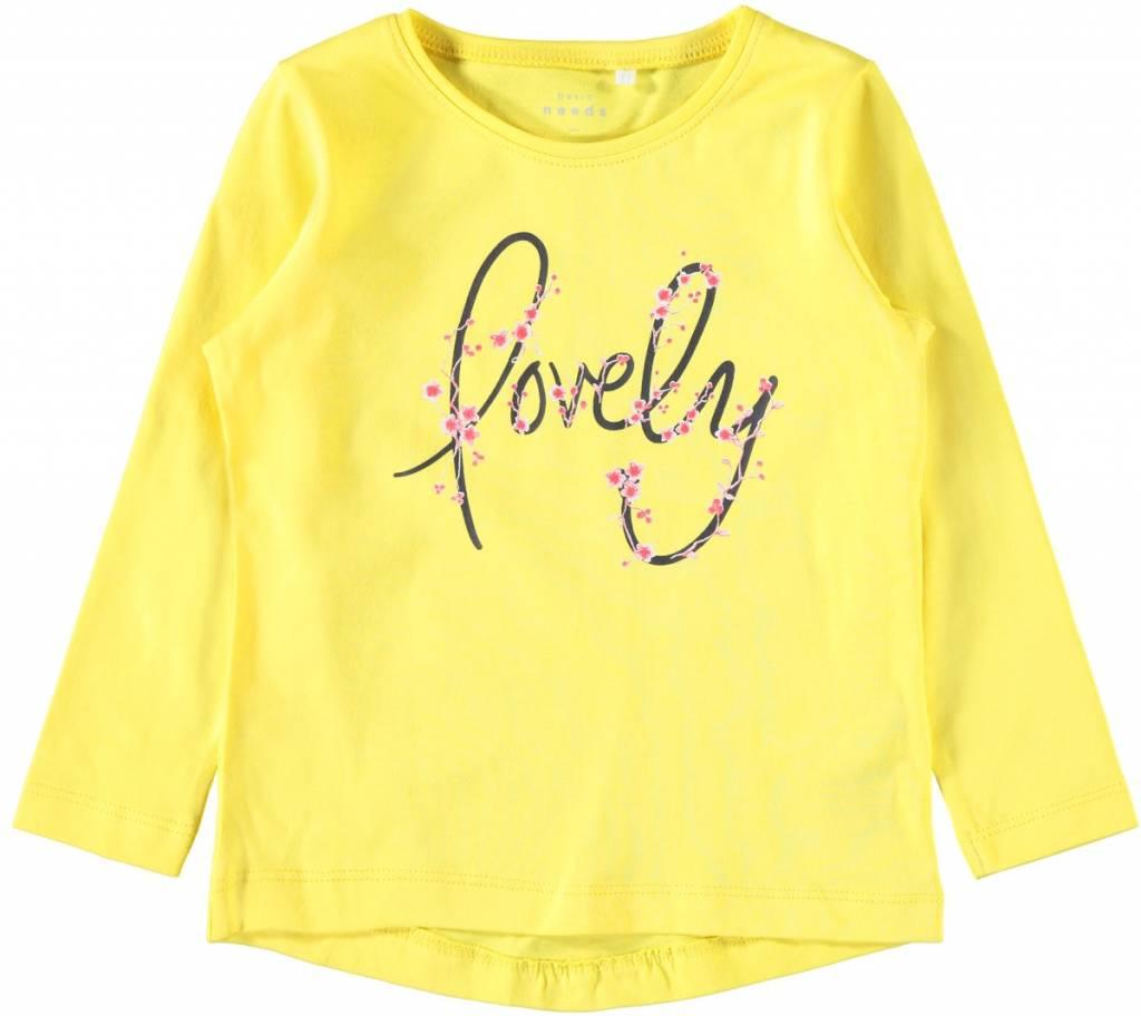 Name It Name It longsleeve Veen  primrose yellow