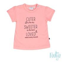 T-shirt cuter sweeter cherry sweet roze